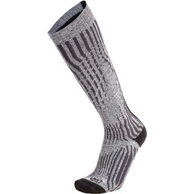 UYN Shiny Cashmere Ski Socks Dame celebrity silver